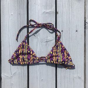 american apparel geometric bikini triangle top